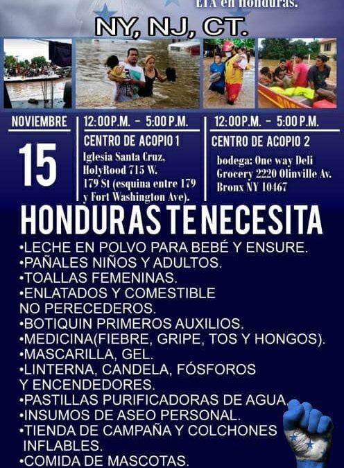 Honduras Te Necesita