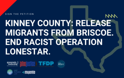 Sign the Petition: Release migrants in Briscoe